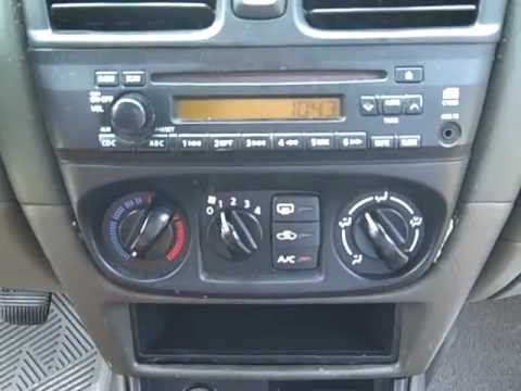 Nissan Sentra Car Stereo Removal And Repair Youtube