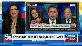 Loesch Calls Out Trump Critic Navarro for Filing Nails During Discussion of Illegal Immigrant Crime