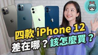 iPhone 12 該買哪一款?Apple iPhone 12 Pro / iPhone 12 Pro Max / iPhone 12 mini / iPhone 12 特色比較與挑選建議