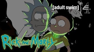 Rick Makes the Ultimate Sacrifice to Save Morty | Rick and Morty