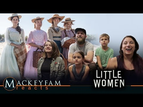 LITTLE WOMEN - Official Trailer- REACTION and REVIEW!!!