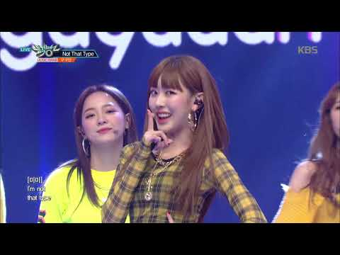 뮤직뱅크 Music Bank - Not That Type - 구구단(gugudan).20181116