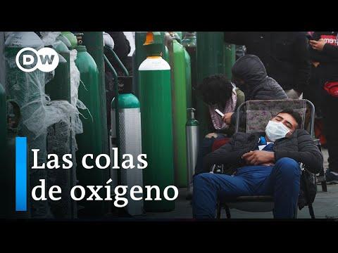 La segunda ola del virus se ensaña con Brasil y México