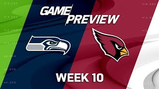 Seattle Seahawks vs. Arizona Cardinals | NFL Week 10 Game Preview | NFL Playbook