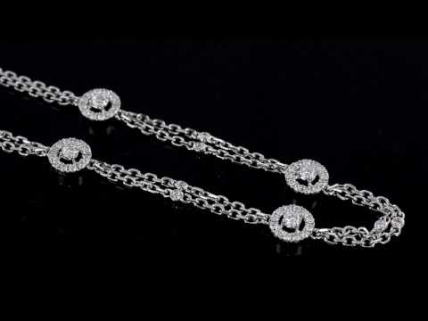 Browns Family Jewellers Cluster Diamond Bracelet