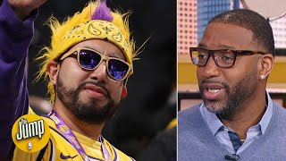 Lakers fans would absolutely crash the Clippers' title parade and boo - Tracy McGrady | The Jump