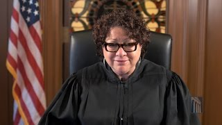 Supreme Court Associate Justice Sonia Sotomayor Remarks on Constitution Day 2016