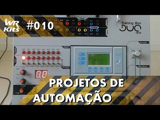 CONTROLE DE MOTOR DE PASSO COM CLP ALTUS DUO | Projetos de Automação #010