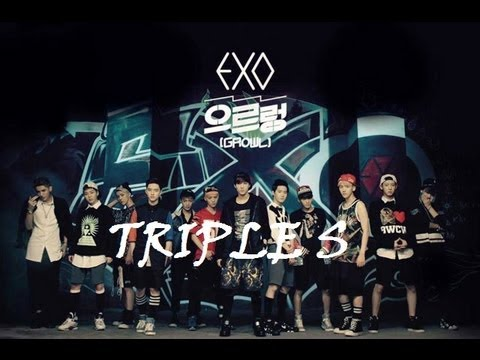 TRIPLE S | Part 9 | EXO | Growl