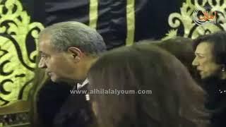 شاهد .. وزير التموين يؤدي واجب العزاء في زوج الإعلامية درية شرف الدين ...