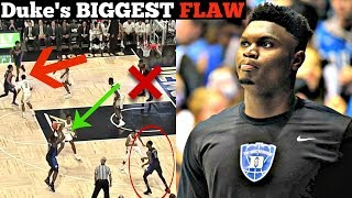 This is The Biggest WEAKNESS of Zion Williamson and Duke