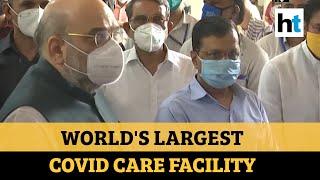 Delhi gets world's largest COVID care centre..