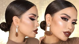 QUICK AND EASY 5 MINTUE LOW BUN | iluvsarahii