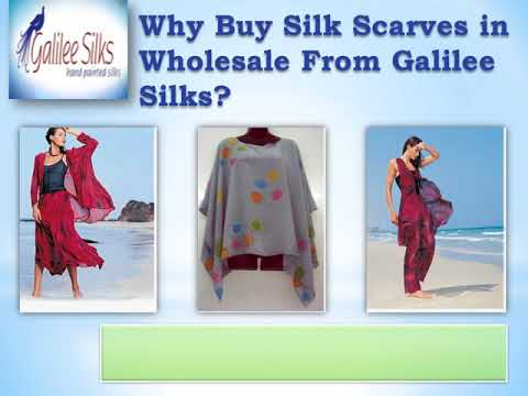 Searching Hand Painted Silk Scarves Wholesale? Why Buy One?