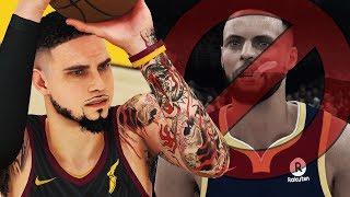 NBA 2K18 MyCAREER - Curry Is SCARED!! EVERYONE SHOOTING THREES! GSW DISRESPECTFUL Celebrations!