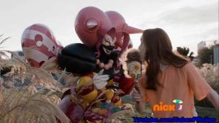 Power Rangers Dino Super Charge Ep 11 - Love at First Fight - Lovely makeup