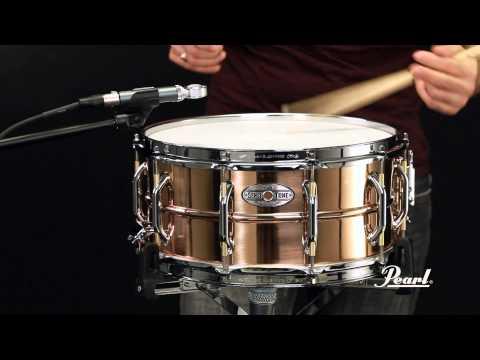Pearl Sensitone Elite Phospher Bronze 14x6.5 Snare Drum