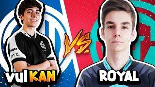 PRO vs PRO   Vulkan vs Royal   WORLD'S BEST PLAYERS FACE OFF!