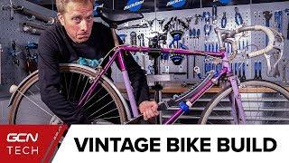 Building A Vintage Replica Bike   1920's (ish) Giro Challenge Part 1