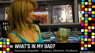 Rosanna Arquette - What's In My Bag?