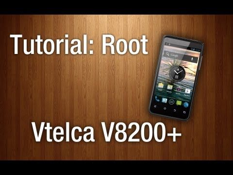TUTORIAL: Root Vtelca - V8200+