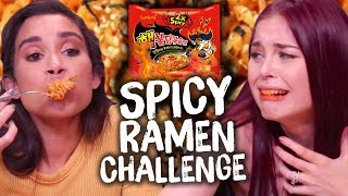 Spicy Noodle Challenge Gone WRONG! (Cheat Day)
