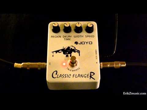 Joyo JF-07 Classic Flanger Demo