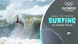 I never surfed Waves like these before! | Road to Tokyo: Surfing | The Qualifier Stories | Ep. 6