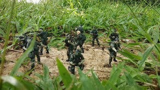 Toy soldiers Army men figure action Special force Toys for kids