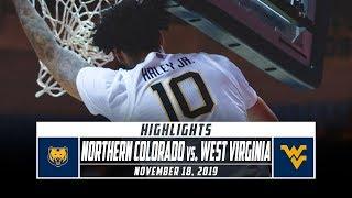 Northern Colorado vs. West Virginia Basketball Highlights (2019-20) | Stadium