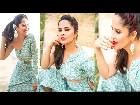 Wow! Jabardasth anchor Anasuya looks pretty in her latest photoshoot pics