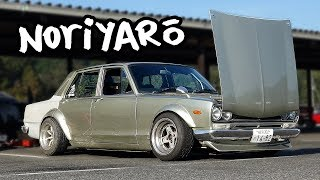 Real Hakosuka drift car - owner let me drive it!