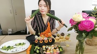 E17 Want to have Kaiten Sushi in you office? You can make it by yourself | Cooking in Office