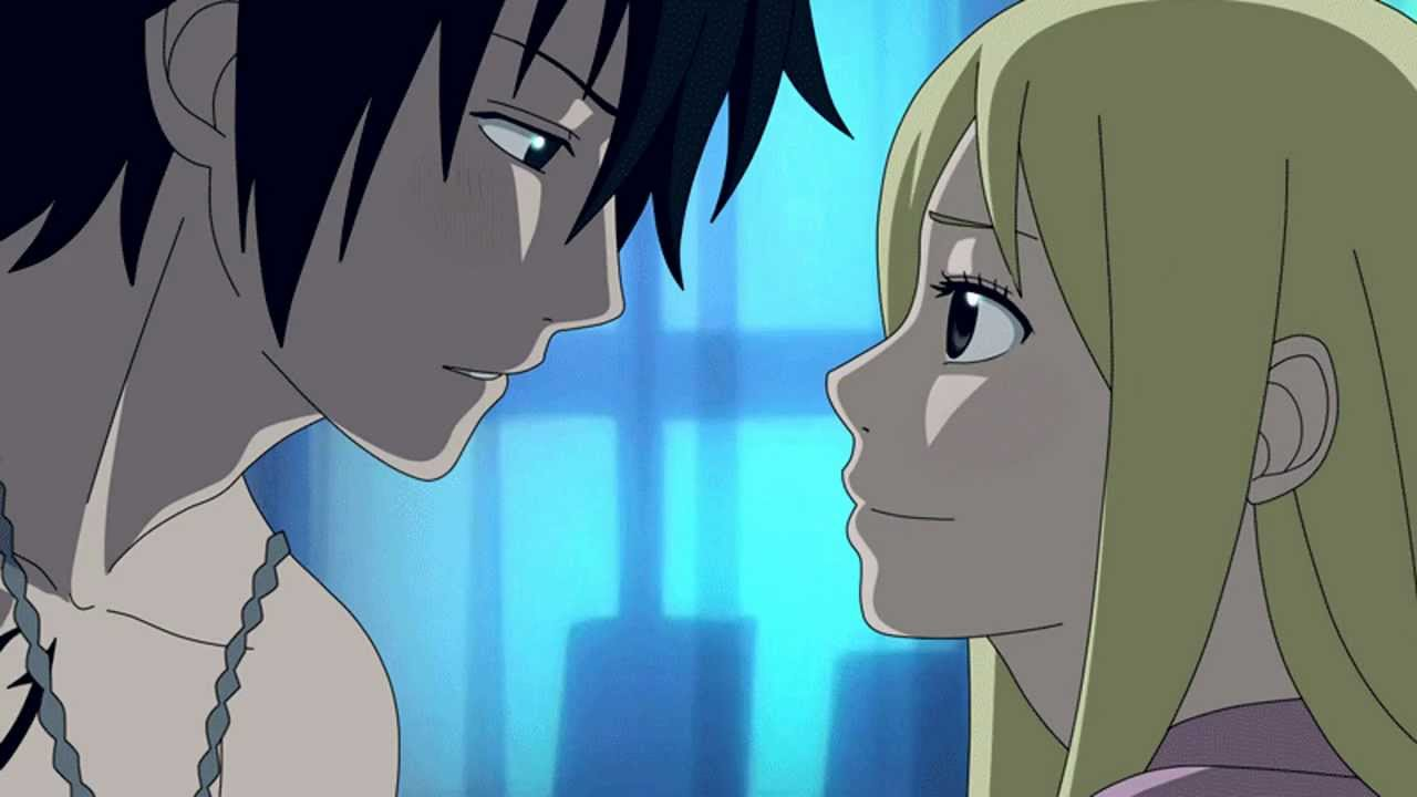 Gray Lucy Kiss Scene + Download Link