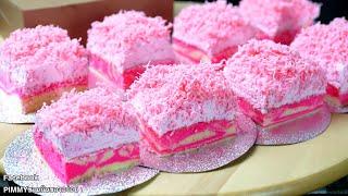 PINK CHOCOLATE CAKE Recipe  พิงค์ช็อคโกแล็ตเค้ก
