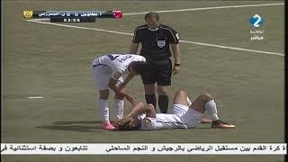 مقابلة إتحاد تطاوين     - النادي البنزرتي ليوم 03 / 04 / 2018 - الشوط ...