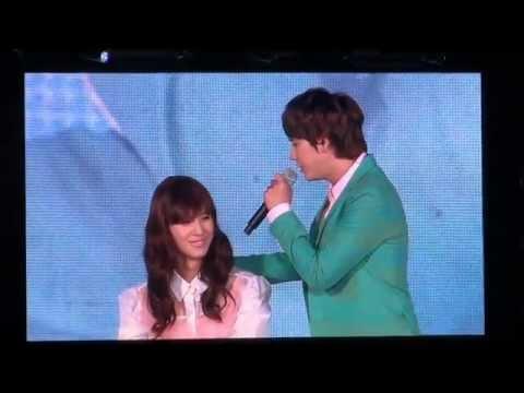 [HD Fancam]120818 SMT in Seoul Lucky girl Taemin (Changmin Kyuhyun duet)
