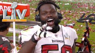 Shaq Barrett Postgame Interview | Super Bowl LV