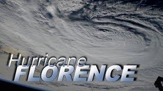Views of Hurricane Florence at Landfall