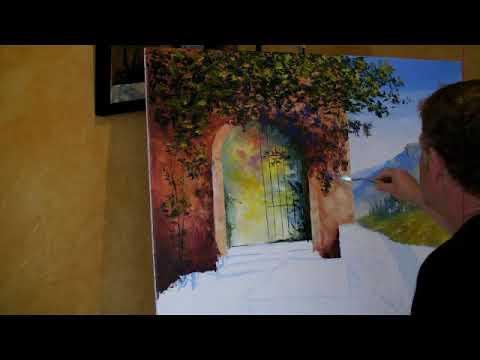 Cours de peinture au couteau la spatule musica movil for Peinture a la spatule