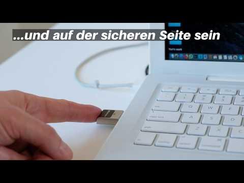 Fingerprint Secure USB 3.2 Gen 1-Stick 64GB*