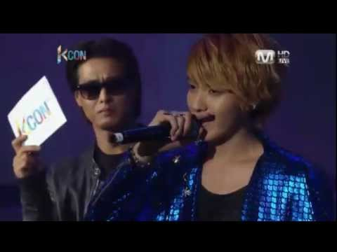 Tao and Xiumin doing aegyo + Kris trying to avoid doing it