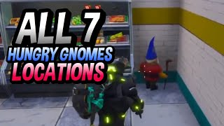 ALL 7 HUNGRY GNOMES LOCATIONS! HOW TO SEARCH HUNGRY GNOMES WEEK 8 CHALLENGES!