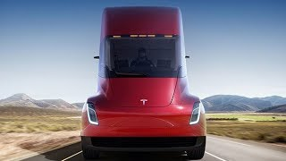 Tesla reveals first electric truck and delivers roadster surprise