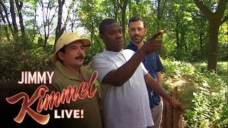 Tracy Morgan, Jimmy Kimmel & Guillermo Tour the Bronx Zoo