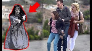 SCARY HALLOWEEN GHOST PRANK🎃👻