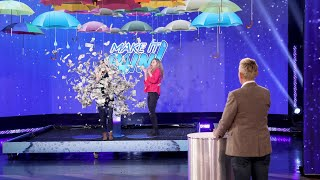 Fan Wins $5,000 in the Fastest Game of 'Make It Rain'!