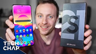 My Samsung Galaxy S21 ULTRA First Impressions! | The Tech Chap