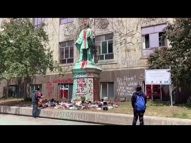 加國寄宿學校舊址215孩童遺骨 掀黑暗歷史