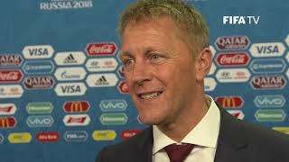 Heimir HALLGRIMSSON - Iceland - Final Draw Reaction